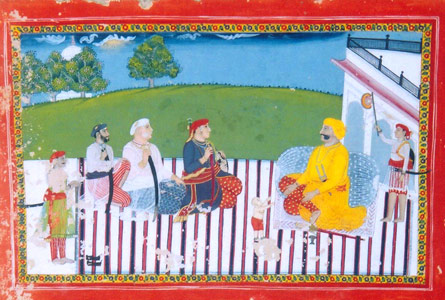 Indian Miniature paintings from Datia