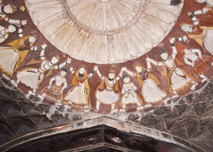 Wall paintings from Datia